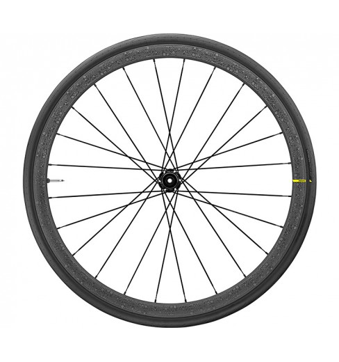 Roue avant route MAVIC KSYRIUM PRO Carbon UST DISC TOUR DE FRANCE