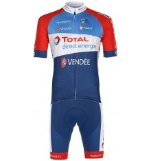 TOTAL DIRECT ENERGIE summer cycling outfit 2020