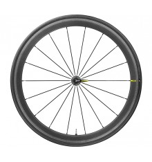 MAVIC Cosmic Pro Carbon UST black front wheel