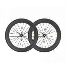 Paire de roue route MAVIC COMETE PRO CARBON SL UST DISC 2020