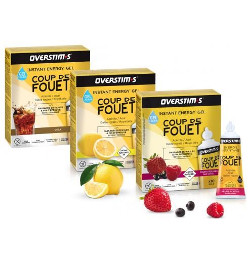 overstims Liquid Coup de Fouet 10 gels 30 g box