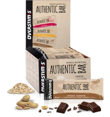OVERSTIMS Authentic Bar energy bars box - 30 x  65 g