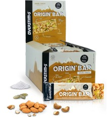 OVERSTIMS Origin'Bar Salty energy bars box - 30 x  40 g
