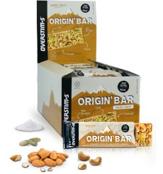 OVERSTIMS boîte de barres énergétiques Origin'Bar salée - 30 x 40 g