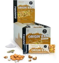 OVERSTIMS Origin'Bar Salty energy bars box - 30 x  40 g