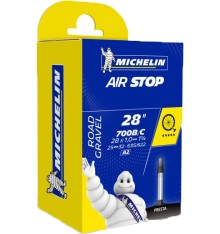 Michelin chambre à air route Airstop A2 700X25/32 Presta 40 mm non filetée
