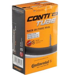 CONTINENTAL  Chambre à air de vélo route  Race 28 700x25-32 valve PRESTA 42 mm