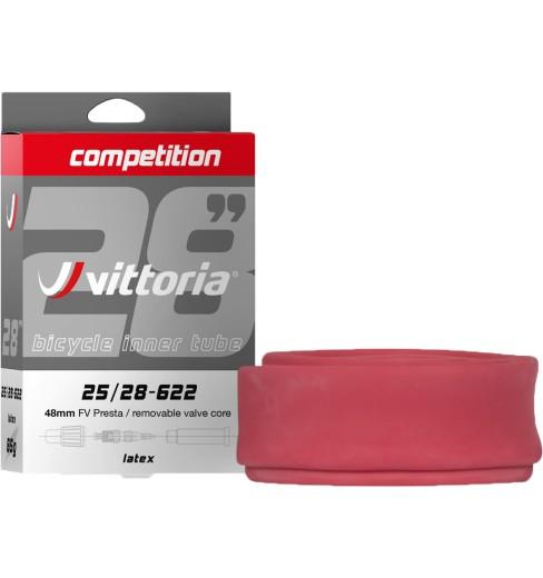 VITTORIA Competition Latex inner tube - 700x19/23, 700x25/28C, 700x30/32 Presta 48mm RVC