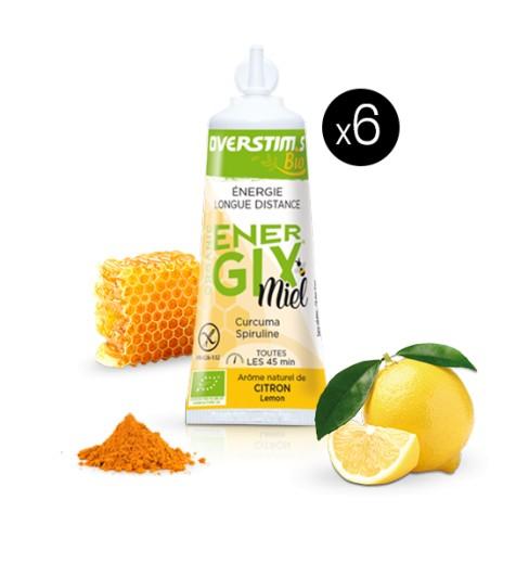 Overstims organic honey Energix gel 25 g