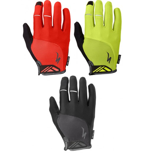 SPECIALIZED Body Geometry Dual-Gel long cycling gloves