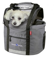 KLICKFIX panier pour chien Doggy Shopper sur support guidon