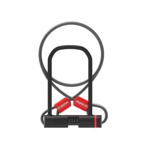 ZEFAL antivol vélo K-TRAZ U13 CODE + CABLE