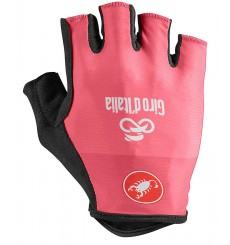 GIRO D'ITALIA Pink summer cycling gloves 2020