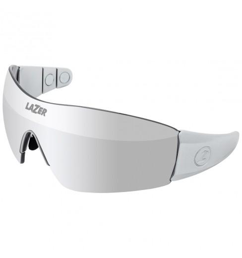 LAZER lunettes de vélo polarisées Magneto 1 M1 Argent
