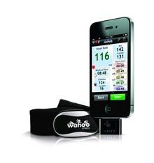 WAHOO COURSE À PIED/FITNESS PACK CARDIO : CLÉ ANT+ CEINTURE CARDIO POUR IPHONE
