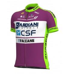 ALE maillot vélo manches courtes PRIME BARDIANI CSF FAIZANE vert - lilas 2020