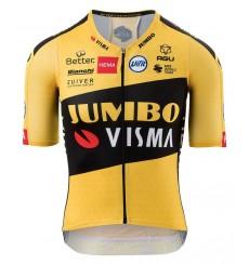 AGU maillot vélo manches courtes officiel Premium Team Jumbo Visma 2020