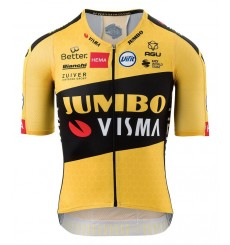AGU TEAM JUMBO VISMA Premium men's short sleeve jersey 2020