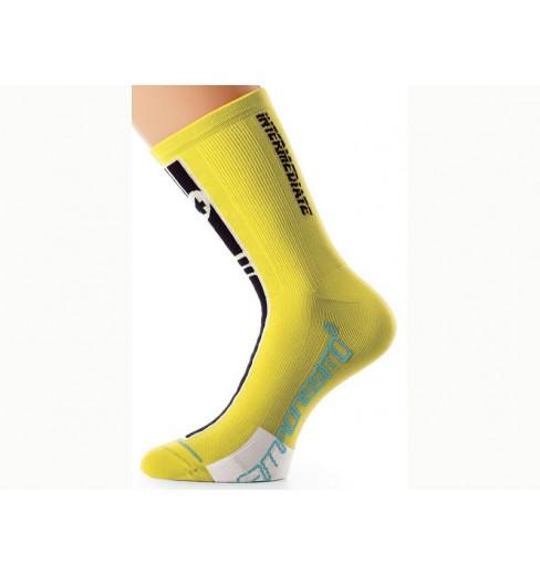 ASSOS Intermediate Yellow socks