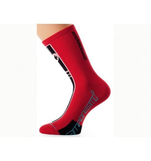 ASSOS Socquettes Intermediate rouges