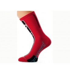 ASSOS Socquettes Intermediate rouges