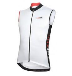 RH+ maillot vélo sans manches blanc noir rouge 2020