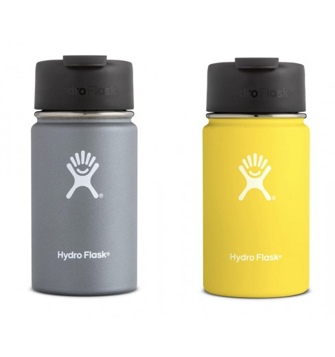 HydroFlask 12 oz Wide Mouth bottle with Flip Lid
