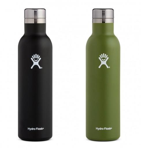 HydroFlask 25 oz insulated wine bottle