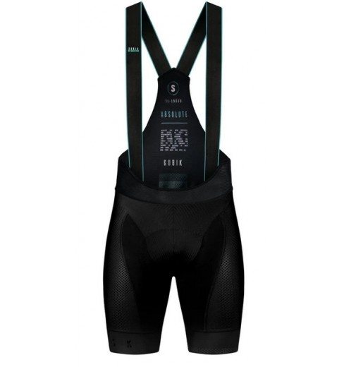 GOBIK Absolute 4.0 K10 black men's bib shorts 2020