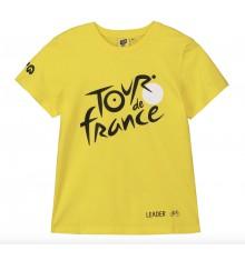 TOUR DE FRANCE t-shirt enfant Logo Leader jaune 2020