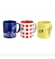 TOUR DE FRANCE set 3 mugs 2020