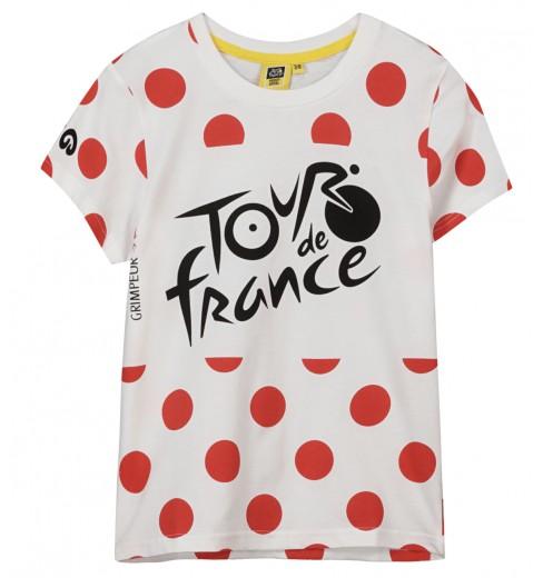 TOUR DE FRANCE t-shirt enfant Logo à pois 2021