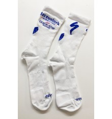 SPECIALIZED Deceuninck Quick Step Hydrogen Vent Tall summer cycling socks