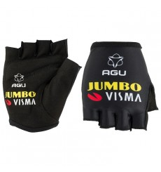 AGU 2020 TEAM JUMBO VISMA summer cycling gloves