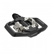 Shimano Black MTB pedals with cleats SM-SH51 PD-ME700