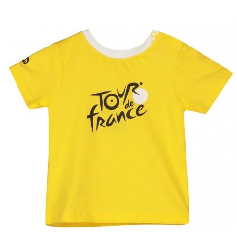 TOUR DE FRANCE t-shirt bébé Logo Leader jaune 2021