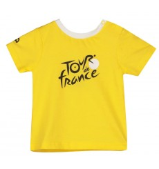 TOUR DE FRANCE t-shirt bébé Logo Leader jaune 2020