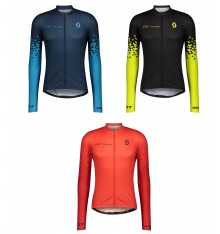 SCOTT maillot cycliste manches longues homme RC TEAM 10 2021