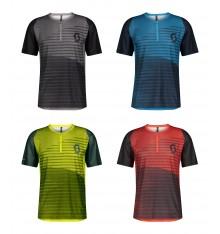 SCOTT TRAIL VERTIC ZIP men's short sleeve MTB jersey 2021