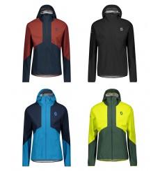 SCOTT veste à capuche cycliste hiver homme EXPLORAIR LIGHT DRYO 2.5L 2021
