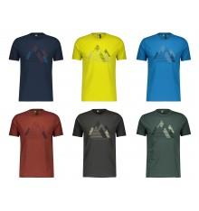 SCOTT DEFINED Dri Graphic men's short sleeve MTB jersey 2021