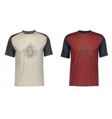 SCOTT DEFINED MERINO men's short sleeve MTB jersey 2021