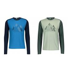 SCOTT DEFINED GRAPHIC men's long sleeve MTB jersey 2021