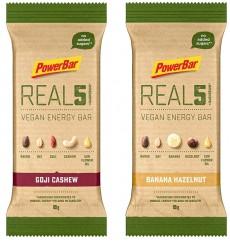 Barre énergétique POWERBAR REAL5 Vegan - 65gr