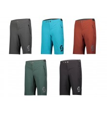 SCOTT TRAIL 10 Junior cycling shorts with pad 2021