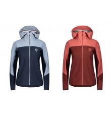 SCOTT veste à capuche cycliste hiver femme EXPLORAIR DRYO 3L 2021