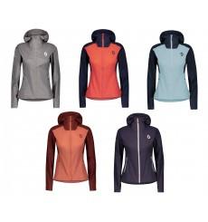 SCOTT EXPLORAIR Light MTN women's wind-stopper cycling jacket with hood 2021