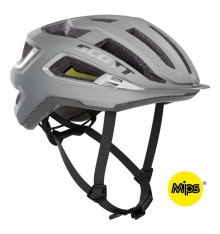 SCOTT Arx PLUS road helmet 2021 - silver reflective