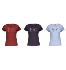 SCOTT DEFINED MERINO GRAPHIC women's short sleeve MTB jersey 2021