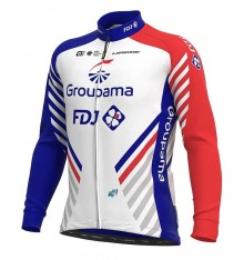 GROUPAMA FDJ long sleeve bike jersey 2020